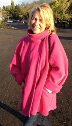 Fun & Stylish Women's Fleece Jacket by SFSwingCoat on Etsy #women ...