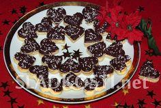 Sypaná koňaková srdíčka Birthday Cake, Pie, Pudding, Cookies, Breakfast, Christmas, Recipes, Torte, Crack Crackers