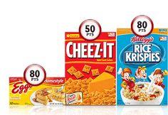 Posh Frugal Chic: Kellogg's Family Reward Points - Free KFR Codes!!