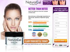 For women who are feeling depressed due to their slowly progressing aging signs, Naturacel cream is the best resort. This anti-aging serum being made up of all natural ingredients shows quick results with zero side-effects, stated in the Naturacel cream reviews. To get more info visit here: http://www.realsupplementfacts.com/naturacel-cream/