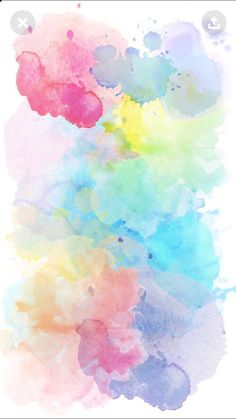 Wellpaper wallpaper em 2019 watercolor wallpaper, painting wallpaper e wall Painting Wallpaper, Cute Wallpaper Backgrounds, Pretty Wallpapers, Wallpaper Iphone Cute, Tumblr Wallpaper, Aesthetic Iphone Wallpaper, Colorful Wallpaper, Cool Wallpaper, Aesthetic Wallpapers