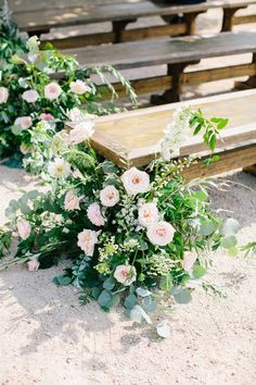 This Rustic Chic Barn Wedding is Totally Romantic Wedding Reception Flowers, Floral Wedding, Fall Wedding, Wedding Ceremony, Wedding Church, Dream Wedding, Wedding Dress, Wedding Chair Decorations, Wedding Chairs