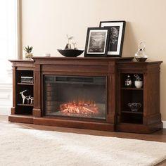 Furniture, Fireplace Apartment, Boston Loft, Home Decor, Fireplace, Furnishings, Southern Enterprises, Wood Burning Fireplace, Brick Interior