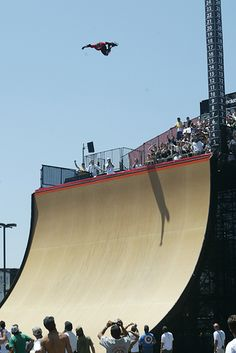 Danny Way, 20 foot backside air X Games X, Skateboard Big Air