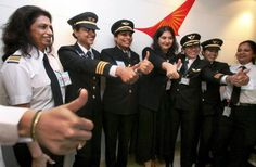 Women pilots of India.
