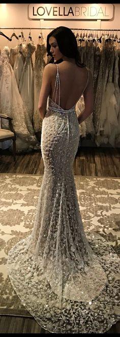 Sexy V-neck Mermaid Prom Dresses,Beading Evening Dresses,Spaghetti Long Dresses,230 - Thumbnail 2