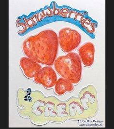 Strawberries by Alison Day