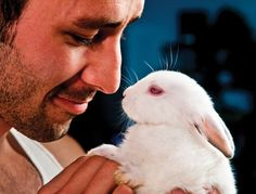 Hot Man Easter Bunny | That's what the founders at Hot Guys and Baby Animals thought… a ...
