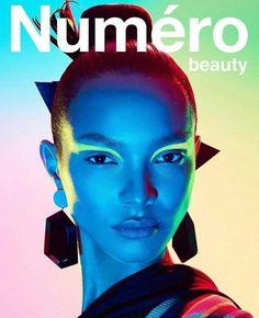 Photographer Enrique Vega captures the May 2019 cover of Numero Russia's beauty supplement. Lais Ribeiro shows off a graphic beauty look in the image. Lais Ribeiro, Beauty Editorial, Editorial Fashion, Beauty Photography, Editorial Photography, Fashion Cover, Daily Fashion, Sleek Hairstyles, Vogue Australia