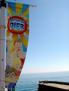 Brighton Palace Pier sign