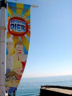 Brighton Palace Pier sign