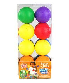 Look what I found on #zulily! Bunch of Balls Set #zulilyfinds