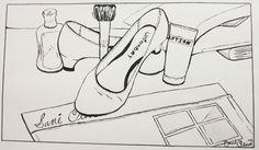 Sami Olive Contour Line Drawing by chsart on deviantART