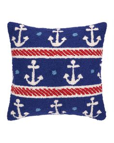 Anchor Nautical Decorative Pillow is on Rue. Shop it now.