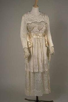 wedding gowns (c. 1916-1918)