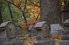 Sleepy Hollow Cemetery, Concord, MA. The cemetery where Nathaniel Hawthorn, Ralph Waldo Emerson, Louisa May Alcott & Henry David Thoreau are buried.