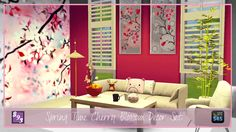 http://shenice93.tumblr.com/post/114925337320/spring-time-cherry-blossom-decor-set-so-these-were