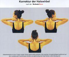 Korrektur der Halswirbel nach der Methode Dorn
