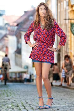Shorts and a tunic