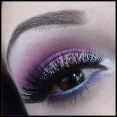 "Pretty Pink shimmering eyes by @SurgeryMakeup so mesmerizing... LASHES: #FlutterLashes in ""LORI"" Hashtag us at #FlutterLashes with lash name to be featured ✨Visit us at www.FlutterLashes.com #pretty #pink #lashes"