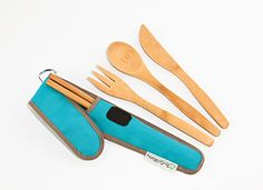 Bye-Bye Plastic! Reusable bamboo by To-Go Ware | Green Gift Ideas | Organic Spa Magazine