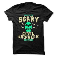 SCARY CIVIL ENGINEER T Shirt, Hoodie, Sweatshirt