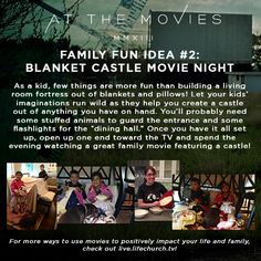 At the Movies Family Fun Idea #2 #lifechurchtv