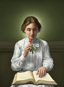 Helen Keller Art Print by Mark Fredrickson. All prints are professionally printed, packaged, and shipped within 3 - 4 business days. Choose from multiple sizes and hundreds of frame and mat options. About Helen Keller, Prayer For Our Children, Helen Keller Quotes, Anne Sullivan, Cute Girl Drawing, Jimmy Carter, Book People, Thing 1, Thomas Jefferson