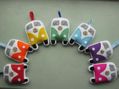 VW Campervan Gift VW Campervan Ornaments / Toys by GracesFavours