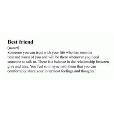 Best Friend Quotes You Should Know One Word Quotes, Bff Quotes, Best Friend Quotes, Mood Quotes, True Friends, Best Friends, Best Friend Definition, Good Insta Captions, Happy Friendship Day Quotes