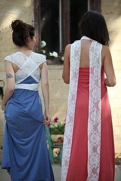 Lace Greek Dress