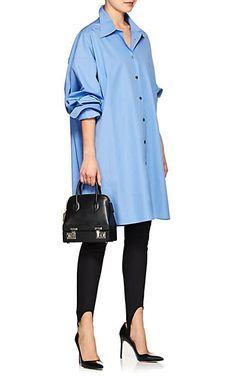 Maison Margiela Cotton Poplin Oversized Blouse - Tops - 505531697