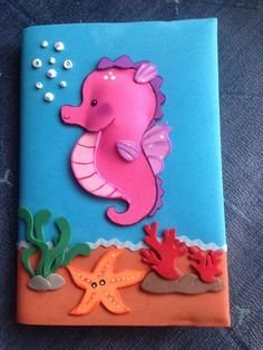 Foam Crafts, Preschool Crafts, Diy And Crafts, Arts And Crafts, Animal Crafts For Kids, Art For Kids, File Decoration Ideas, Decorate Notebook, Paper Crafts Origami