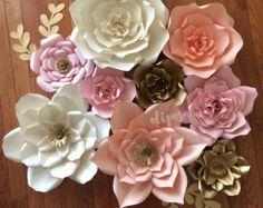 Conjunto de 6 tamaños mezclados gigante flor de por ShopOliposa