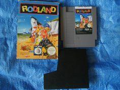 Rodland Con Caja Nintendo Nes Pal España