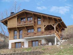 Wooden ski chalet in austria architecture pinterest for Chalet tardy