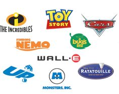 Pixar logos
