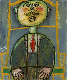 Jean Dubuffet (French, 1901-1985) Little Sneerer, March 1944 Oil on canvas 21 1/2 x 18 in. (54.6 x 45.7 cm) Lindy and Edwin Bergman Collection, 115.1991 Modern and Contemporary Art Gallery 397 The Art Institute of Chicago