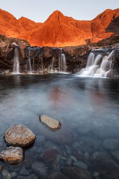 Fairy Pools, Isle of Skye - Scotland