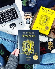 Happy Sunday Bookworms!!  - I hope youre all having a great weekend so far! Im not at all ready for mine to end but its always over so soon. Sigh.  -  HP Sock Sunday. #AlltheBooksJan I really love my Harry Potter socks. Im glad for any excuse to wear them because I dont get to often enough.  - Speaking of Harry Potter... HP Book Night is coming up on February 1st and Im wondering if that may be the perfect night to officially start my reread of the HP series. (Because you know I dont already…