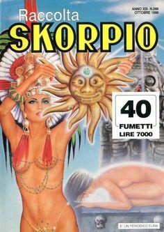 Fumetti EDITORIALE AUREA, Collana SKORPIO RACCOLTA n°266 OCTOBRE 1996