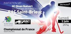 Marque Bretagne / HC Dinan Quévert / Edition - Carton d'invitation / 2014
