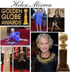 """Most Fashionable Nominee - Helen Mirren"" by tarynsjourney ❤ liked on Polyvore"
