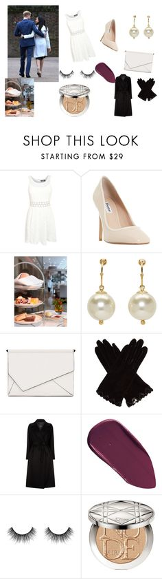 """""""Royal Engagement"""" by slayykay56 ❤ liked on Polyvore featuring Pilot, Dune, Simone Rocha, Kendall + Kylie, AGNELLE, Weekend Max Mara, Bobbi Brown Cosmetics, Velour Lashes and Christian Dior"""