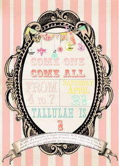 Tallulah's First Birthday - A Vintage Circus Party
