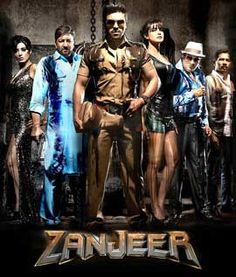 Zanjeer Movie, Story, Trailer Cast: Ram Charan, Priyanka Chopra, Mahie Gill as Mona Darling, Prakash Raj, Sanjay Dutt  Director: Apoorva Lakhia Producer: Reliance Entertainment