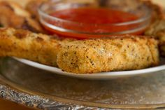 Gluten-free goat milk mozzarella cheese sticks best served hot, right out of the pan.
