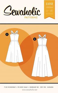 Lonsdale Dress by Sewaholic
