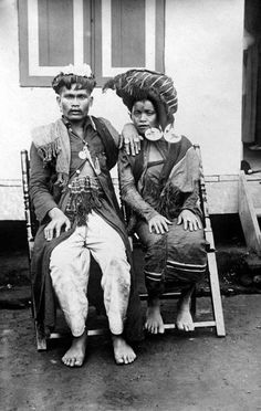 Een Karo-Bataks echtpaar Unknown date Dutch East Indies, Archipelago, Southeast Asia, Worlds Largest, Wikimedia Commons, The Past, Culture, Bali, History