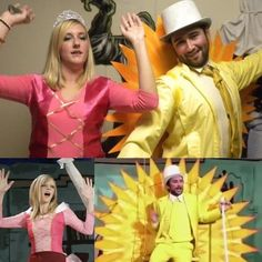 Dee and Charlie from It's Always Sunny in Philadelphia | 31 Two-Person Costume Ideas That'll Up Your Halloween Game